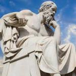 Philosopher-statue