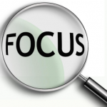 Magnifying focus for productivity efficiency