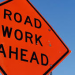 Work Ahead sign